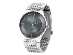 Montre-bracelet pour homme en acier inoxydable, étanche à 3 atm