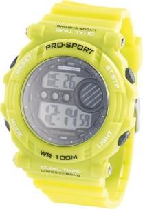 Montre bracelet sport avec chronomètre - vert