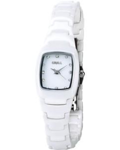 Montre pour femme avec bracelet en céramique blanche