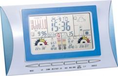 Station météo avec réveil, écran couleur et capteur