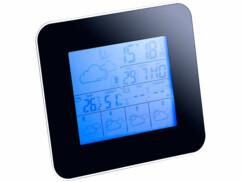 Station météo digitale avec prévisions 4 jours et hygromètre