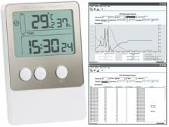 Enregistreur de température et d'humidité USB V2 avec logiciel PC