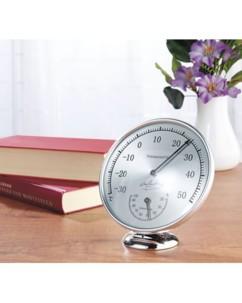 Thermomètre hygromètre analogique - 120 mm
