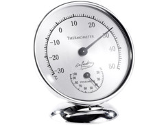 Thermomètre hygromètre analogique - 85 mm