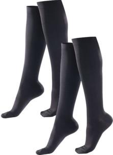 2 paires de chaussettes de contention - taille L / XL