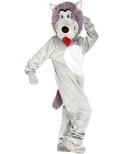 Costume de loup en fourrure synthétique