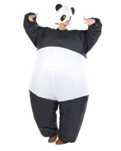 Costume gonflable ''Panda''