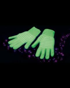 Gants phosphorescents taille L