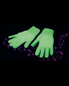 Gants phosphorescents taille XL