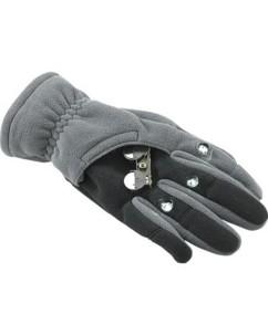 Gants polaires 3 LED taille L (noir)