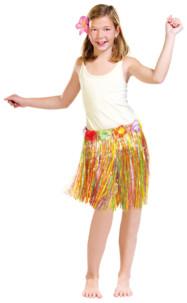 Jupe hawaïenne enfant 35 cm
