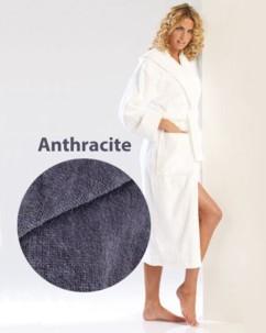 Peignoir confort anthracite taille XL