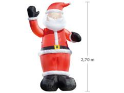 Père Noël gonflable de 2,70 m par Infactory.