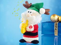 Père Noël saxophoniste ''Saxophone Santa''