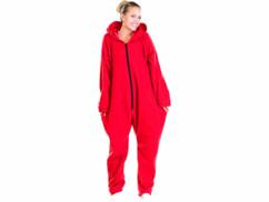 Tenue d'Intérieur rouge en textile polaire taille XL