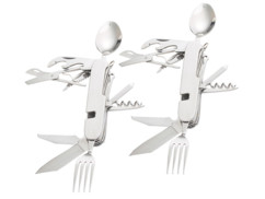 Lot de 2 couteaux multifonction 14 en 1 de la marque Semptec.