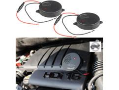 2 dispositifs anti-martre à ultrasons 118 dB pour batterie de voiture 12 V