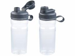 2 gourdes sport de 700 ml - Transparent
