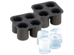 2 moules silicone pour faire jusqu'à 8 verres en glace
