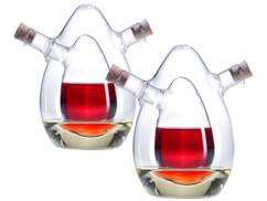 Lot de 2 services à huile et vinaigre par Rosenstein & Söhne.