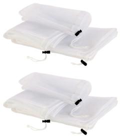 6 filets de lavage pour lave-linge - 3 tailles différentes
