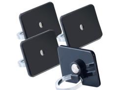 Lot de 4 supports légers Callstel pour appareils mobiles.