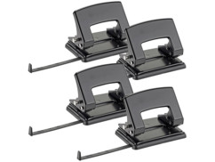 Lot de 4 perforateur double trou par General Office.