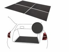 4 tapis de coffre anti-dérapant - 80 x 100 cm