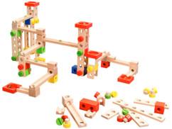 Circuit à billes en bois 50 pièces