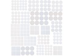 Kit de 220 patins autocollants pour meubles - Blanc
