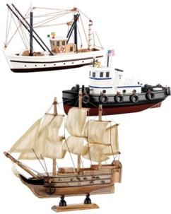 Lot de 3 bateaux en Kit