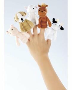 Marionnettes pour doigt : Les Animaux de la Ferme