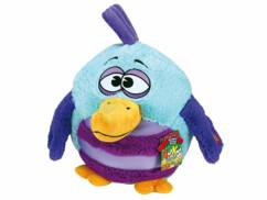 Peluche sonore Kookoo Birds - Turquoise et violet