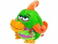 Peluche sonore Kookoo Birds - Vert et orange