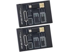 2 porte-cartes SIM et lecteur USB OTG pour carte MicroSD