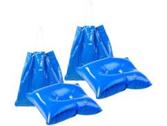 2 sacs de plage gonflables 2 en 1