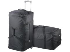 2 sacs de voyage XXL avec chariots amovibles
