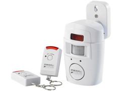 Système d'alarme avec détecteur de mouvement