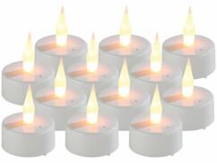 12 bougies chauffe-plat LED à souffler