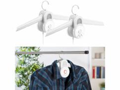 2 cintres sèche-linge 150W à air chaud et froid