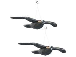2 faucons anti-oiseaux à suspendre