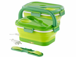 2 lunch box électriques pliables 0,8 L