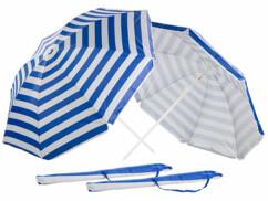 2 parasols avec étuis UV 30+ / Ø 180cm