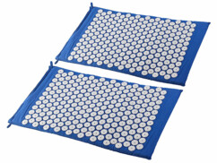 Lot de 2 tapis d'acupression Newgen Medicals.