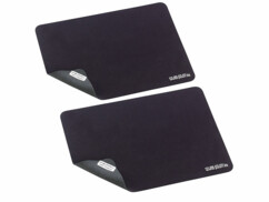 2 tapis de souris 3 en 1 : protections d'écran et chiffons de nettoyage