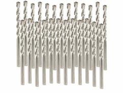 Lot comprennant 5 packs de 5 forets à béton AGT de 6 mm.