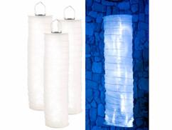 3 lampions solaires avec guirlande à LED - 16 LED