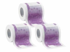 3 rouleaux de papier toilette 500 €