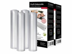 4 rouleaux de film plastique pour appareil de mise sous vide