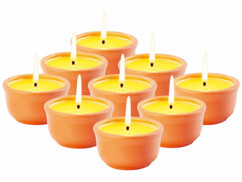 6 bougies anti-insectes